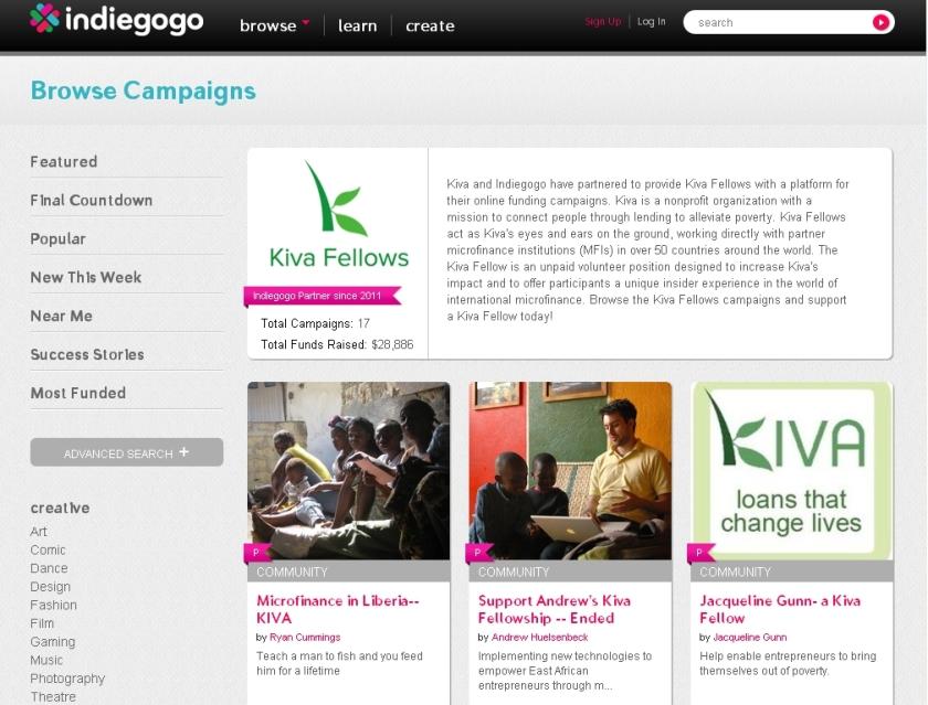 עמיתי קיווה מגייסים השקעות ב-indiegogo