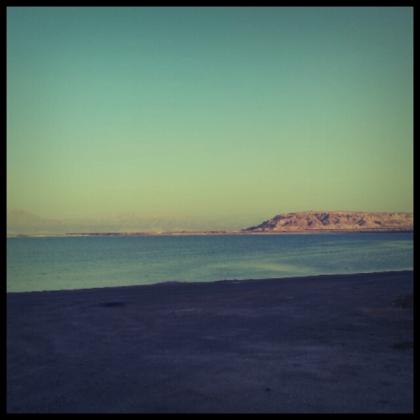 בסוף היום, שקיעה בדרום דרום ים המלח