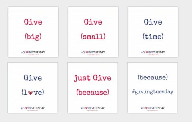 שלישי של נתינה: ארבעה דברים שאפשר לעשות ב-GivingTuesday שהם לא הפעלת קמפיין או תרומת כסף