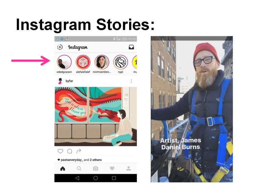 Instagram stories and where to find them