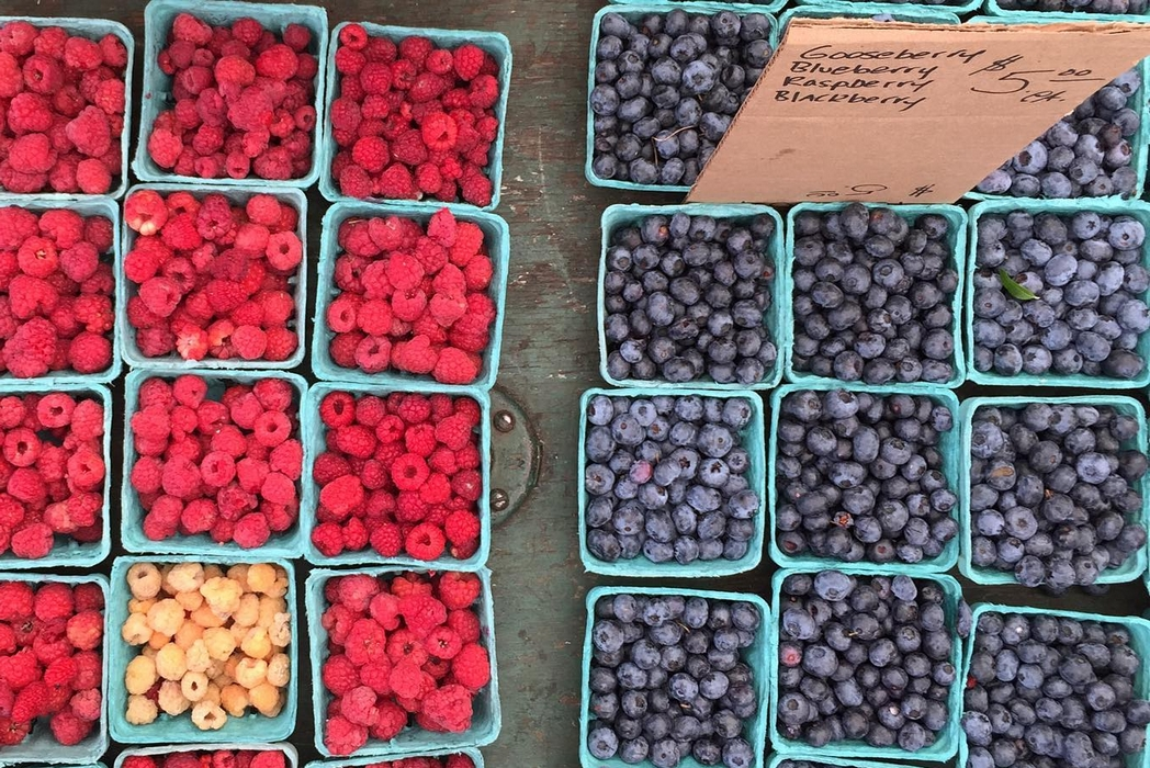 Berries at NYC market by @tmunachila