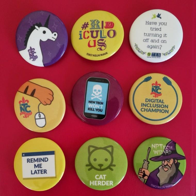 18NTC Badges